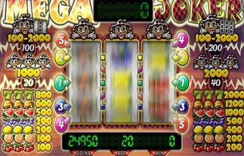 Mega Joker slot supermeter casinostrike