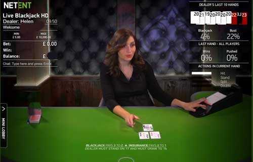 live casino blackjack casinostrike