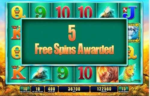 raging rhino slot 5 free spins casinostrike